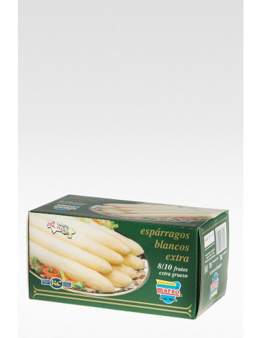 Espárragos Blancos Extra Grueso 8-10 fr